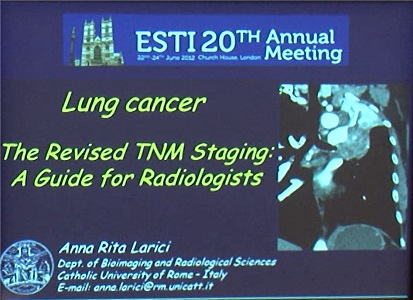 The Revised TNM Staging: A Guide for Radiologists