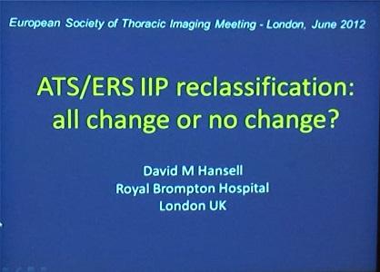 ATS/ERS IIP reclassification: All change or no change?